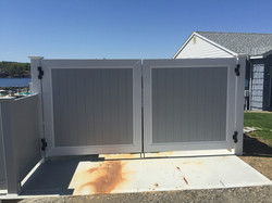 Superior Double Drive Dumpster Gate