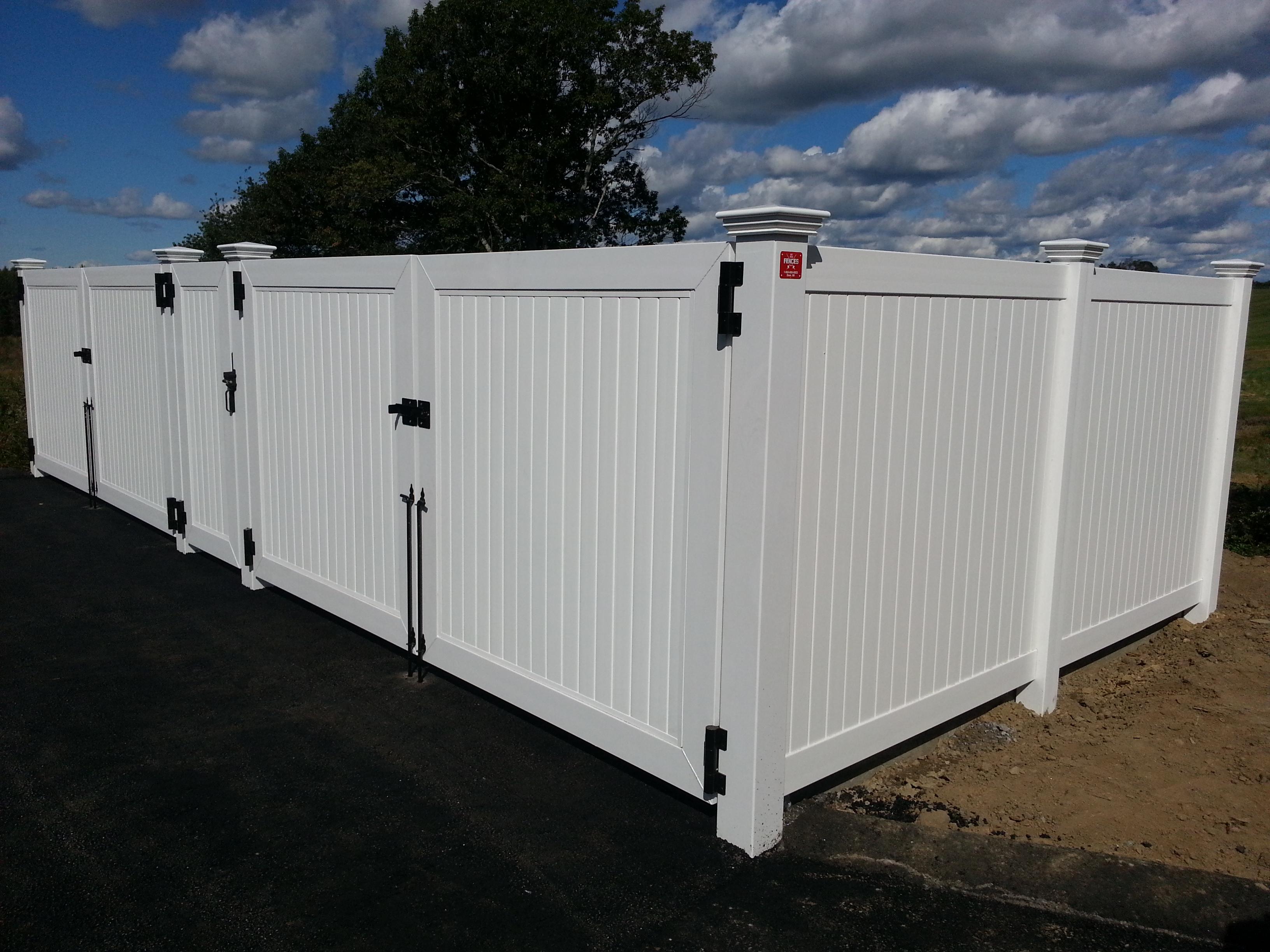 Superior Dumpster Gate Enclosure