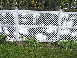 Vinyl Fences Lattice Panels Dover Nh