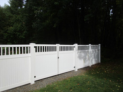 Superior Baluster Top Double Drive Gate