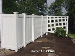 Custom Roman Grid Panel