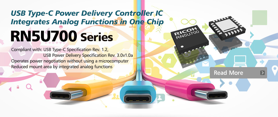 RN5U700 USB Type-C Power Delivery Controller