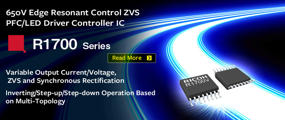 R1700 Series 650 V Variable Output Current/Voltage ZVS PFC/LED Driver Controller