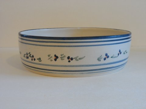casserole dish. forget-me-nots serie