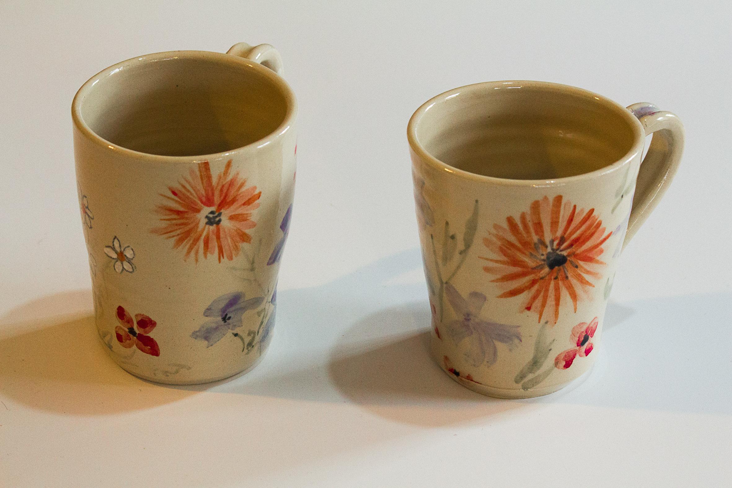 Mugs, Wildflower series