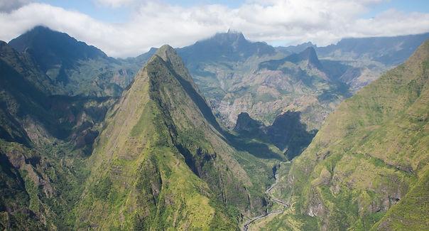 Mietwagenrundreise La Réunion, Reunion Urlaub, Reunion Reise, Berge, Talkessel, Mafate