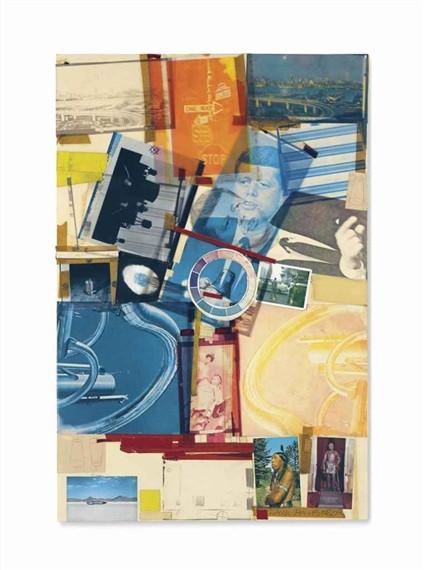 Robert Rauschenberg's Untitled 1965