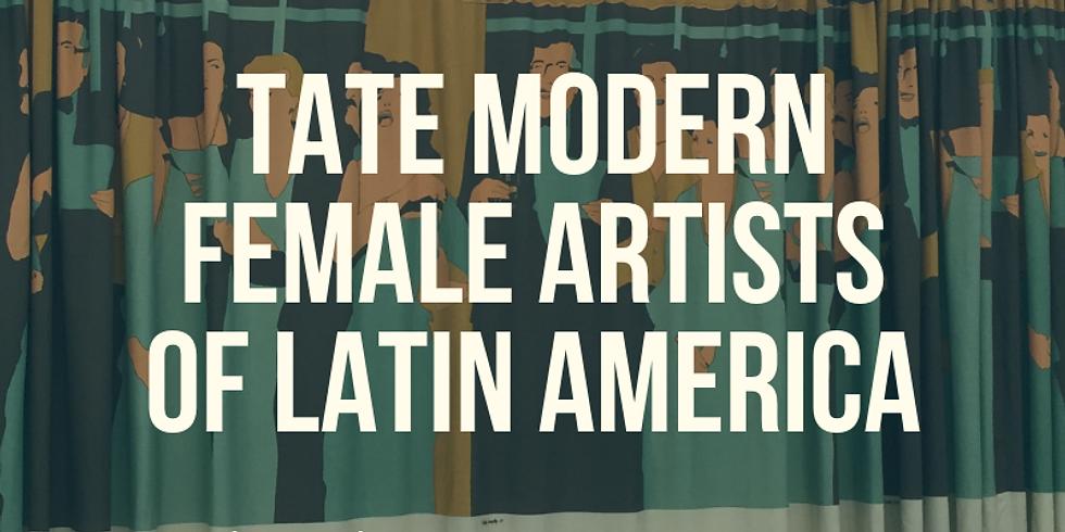 Free Online Class   Tate Modern: Female Artists of Latin America