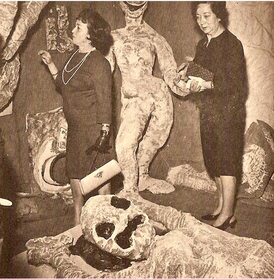 Gloria Gomez Sanchez, Muñecones, 1965.