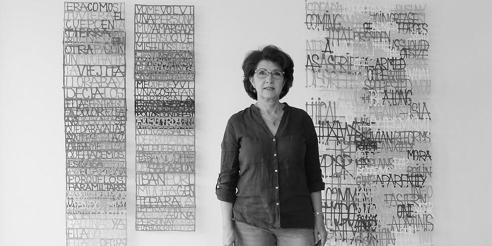 Visita al estudio de Miriam Londoño