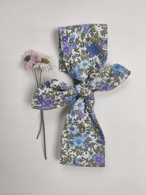 Purple Floral belt + head scarf
