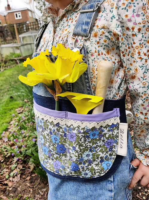 Lilac Floral / Denim
