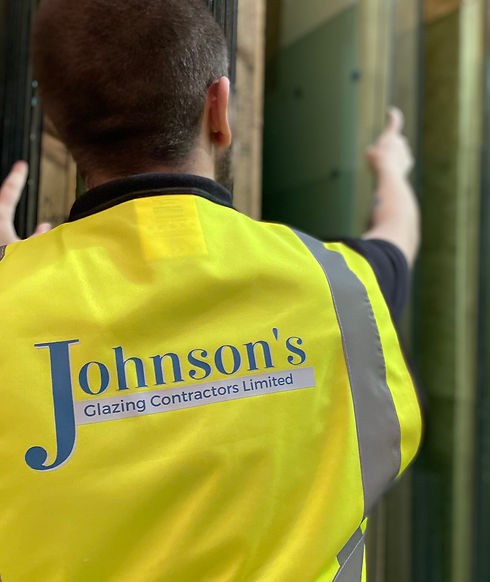 High Vis Commercial Glazier