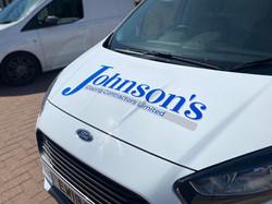 Johnson's Glazing Contractors Limited Van