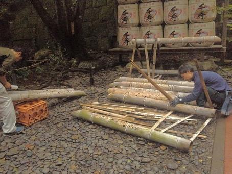 久能山東照宮「天下泰平の竹あかり2019」エンディング