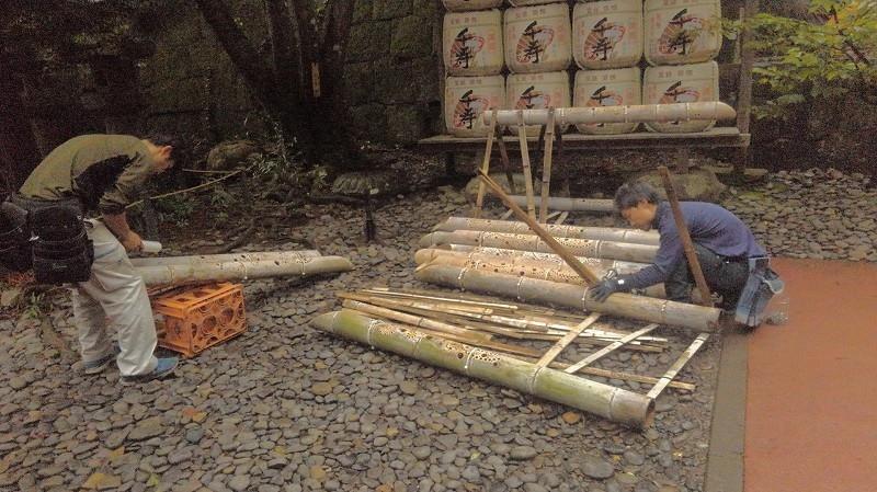 久能山東照宮「天下泰平の竹あかり2019」