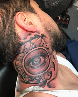 Clock with Eye