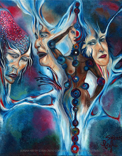 The end of the evolution of a woman by Sorian (Sorin Cretu) 28x22inch.jpg