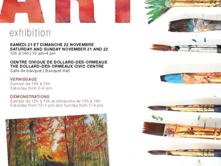 Annual Fall Exhibition of the Artists' Association of Dollard 2015