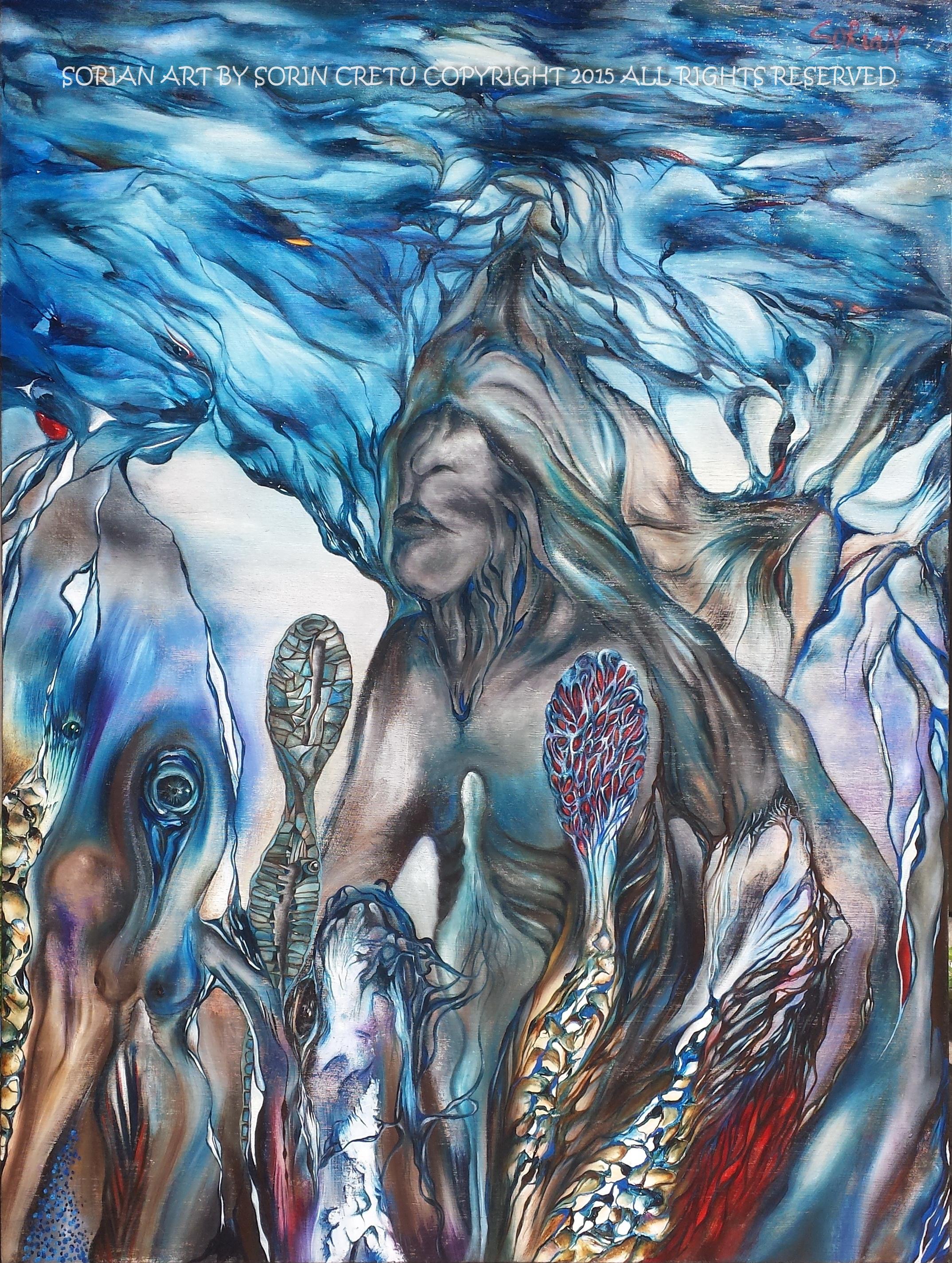 Visions of a Shaman 1 by SORiaN (Sorin Cretu) 2015 - Size 40x30.jpg