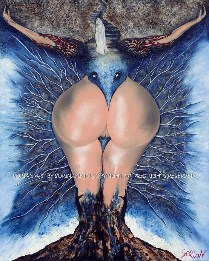 Divine Ass by Sorian (Sorin Cretu) 40x30inch.jpg