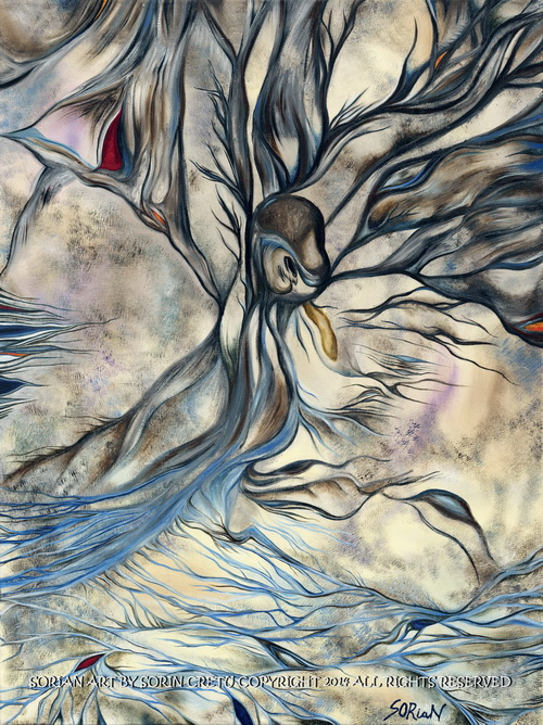 The dragon of sand by Sorian (Sorin Cretu) 40x30inch.jpg