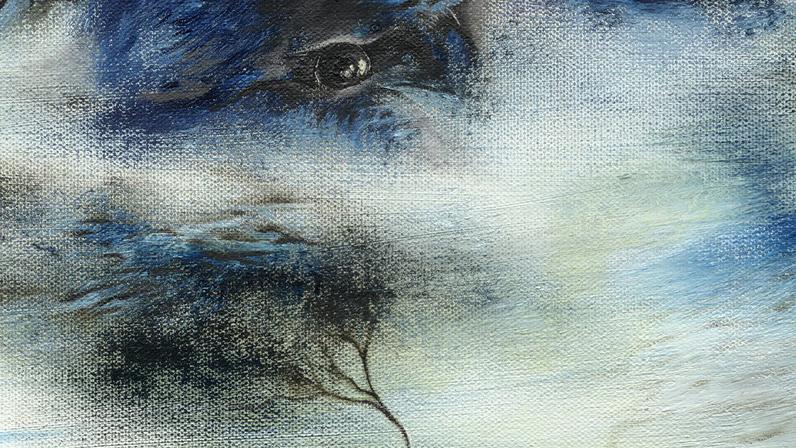 Dawn of Ego by SORiaN (Sorin Cretu) - 2015 -30x24 with copyright fragment6.jpg
