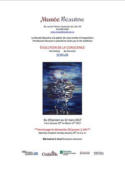 Musee Beaulne Invitation
