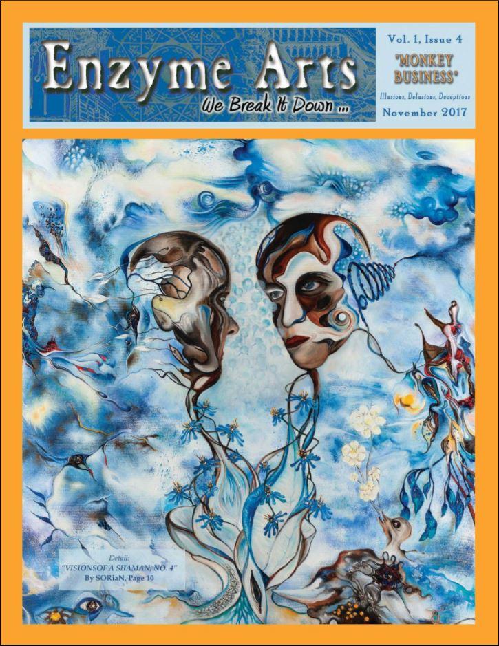 Enzyme Arts, Vol. I, No. 4, MONKEY BUSINESS.JPG