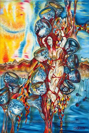 SORiaN ArT Philosophical Surrealism OilPainting
