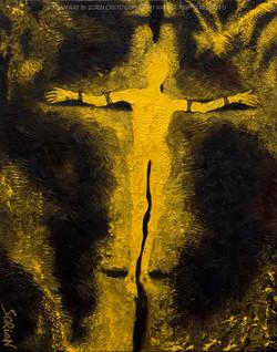 Unknown Man Crucified by Sorian (Sorin Cretu) 28x22inch.jpg