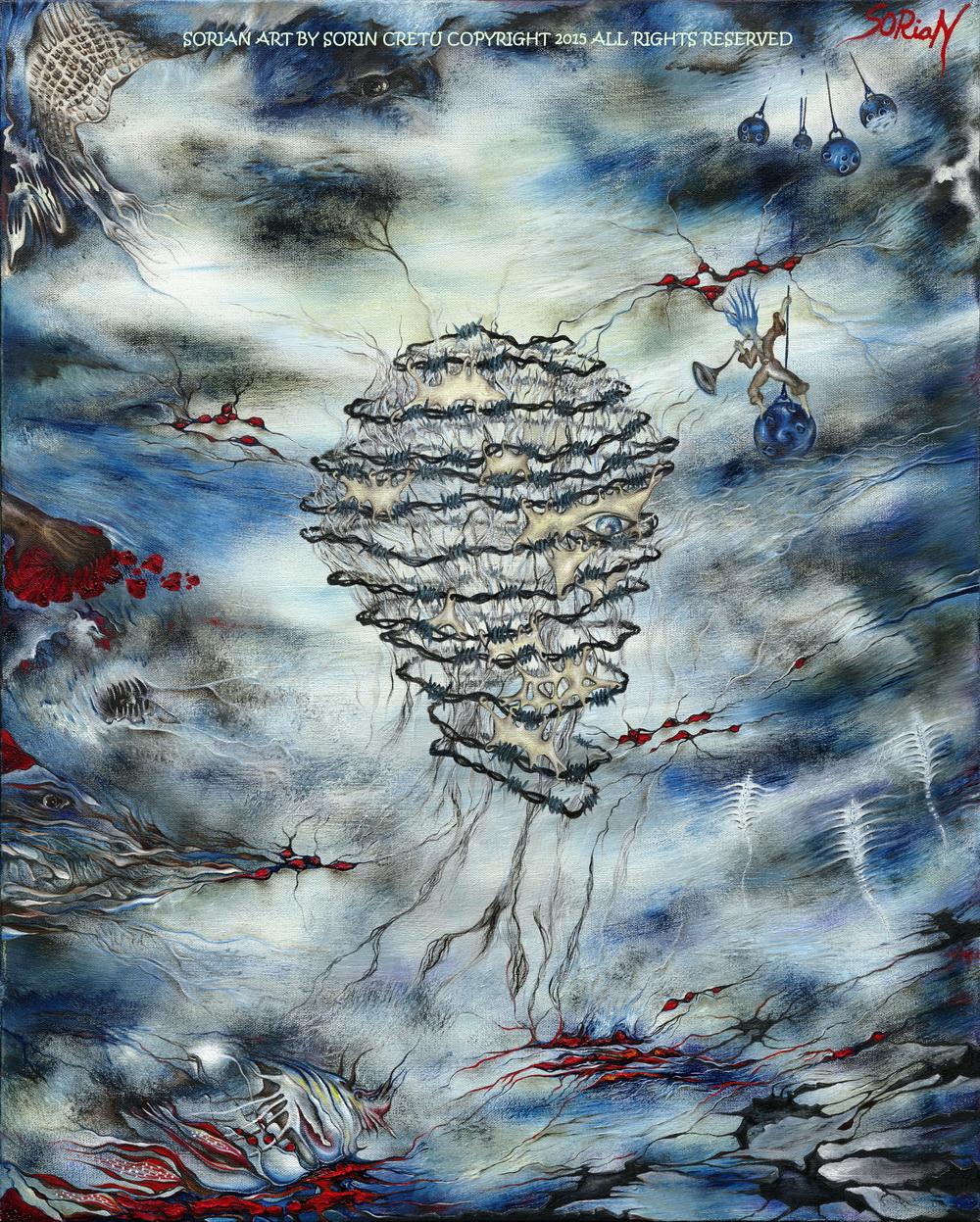 Dawn of Ego - SORiaN (Sorin Cretu) - 2015 - Size 30x24inch - very small.jpg