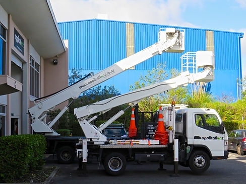 Cherry Picker Truck