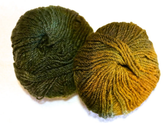 Acorn and Leaf Yarn