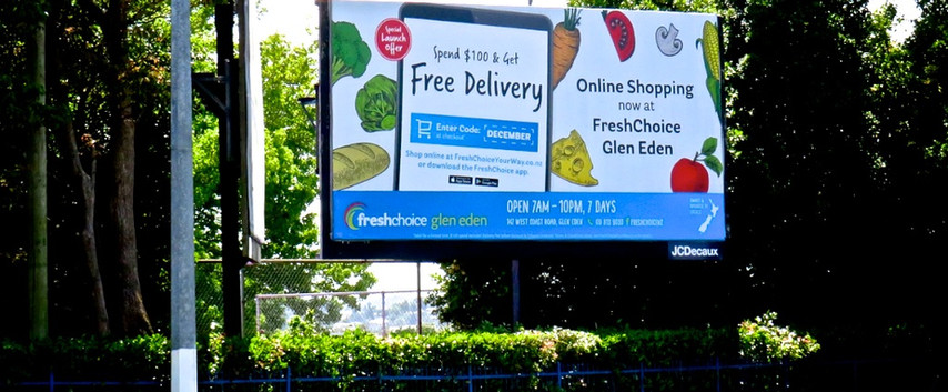 Fresh Choice - 'Spend $100 & get free delivery'
