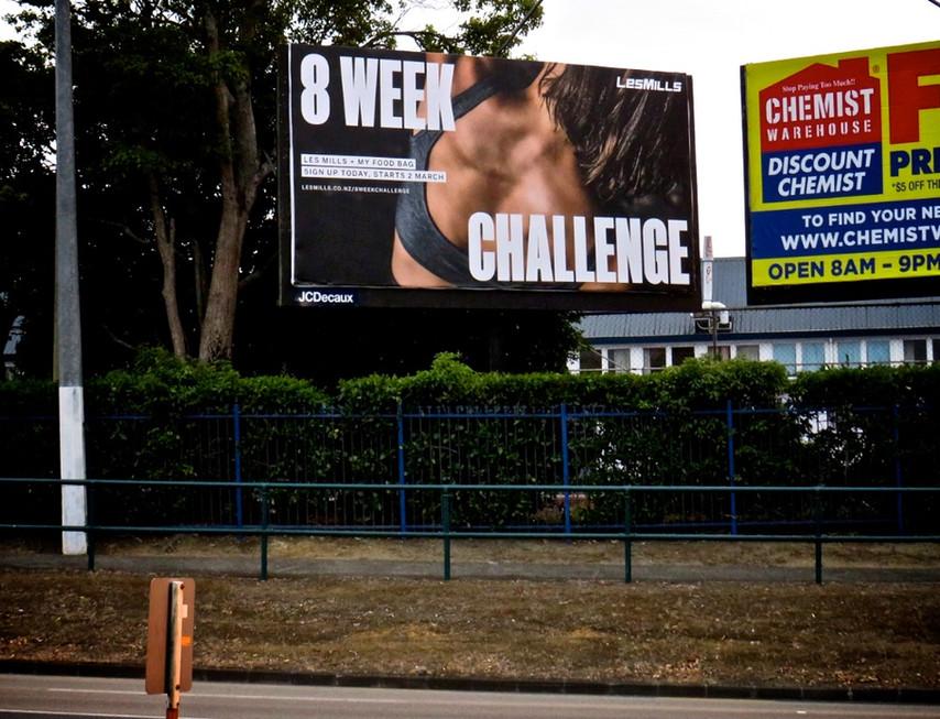 Les Mills - 8 week challenge