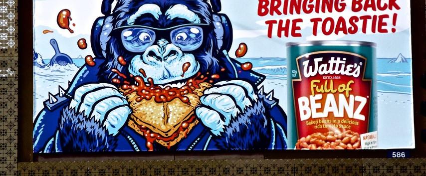 Watties -  'Toastie- Gorilla'