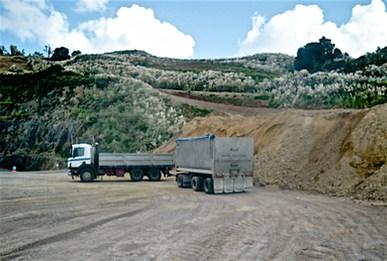 Quarry pick up