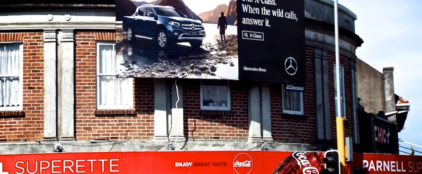 Mercedes - 'X Class, When the wild calls, answer it'