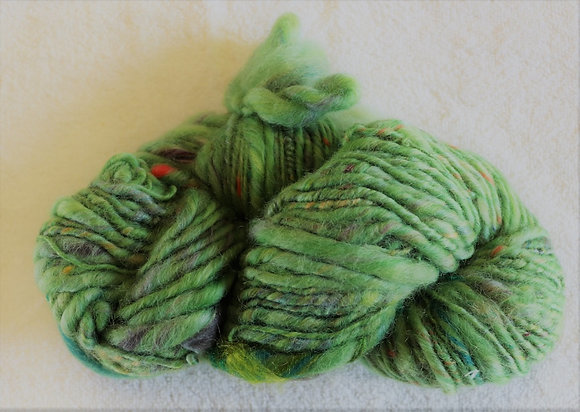 Lime Goody Gum Drops Art Yarn