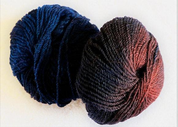 Mulberry Wine Yarn