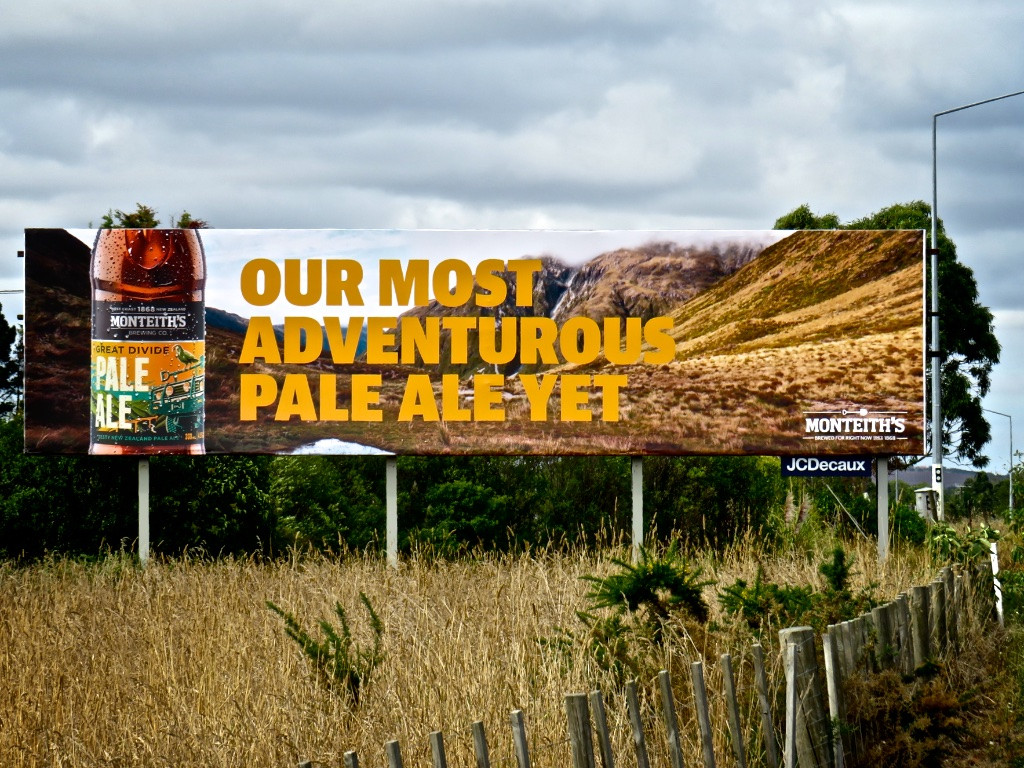Monteith's - our most adventurous pale ale yet