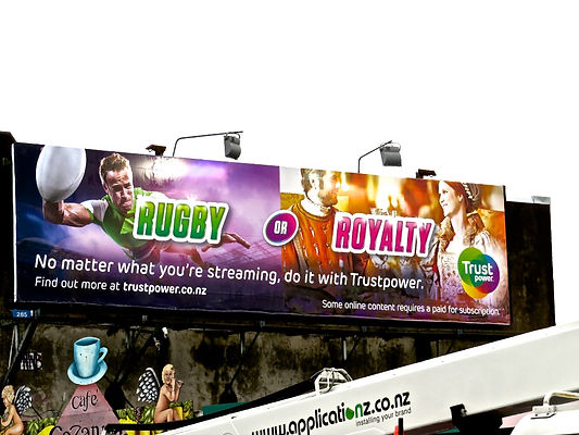 Trustpower Rugby Billboard