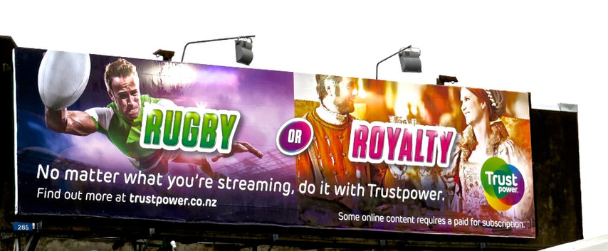 Trustpower-'Rugby or Royality'