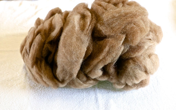 Finnsheep Roving Brown
