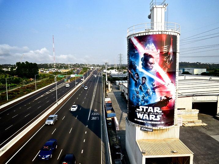 Start Wars Billboard
