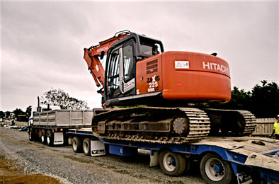 Digger Transport
