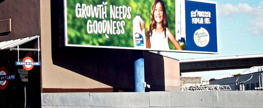 Meadow Fresh - 'Growth needs goodness'