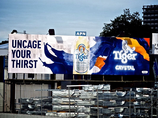 Tiger Beer Billboard