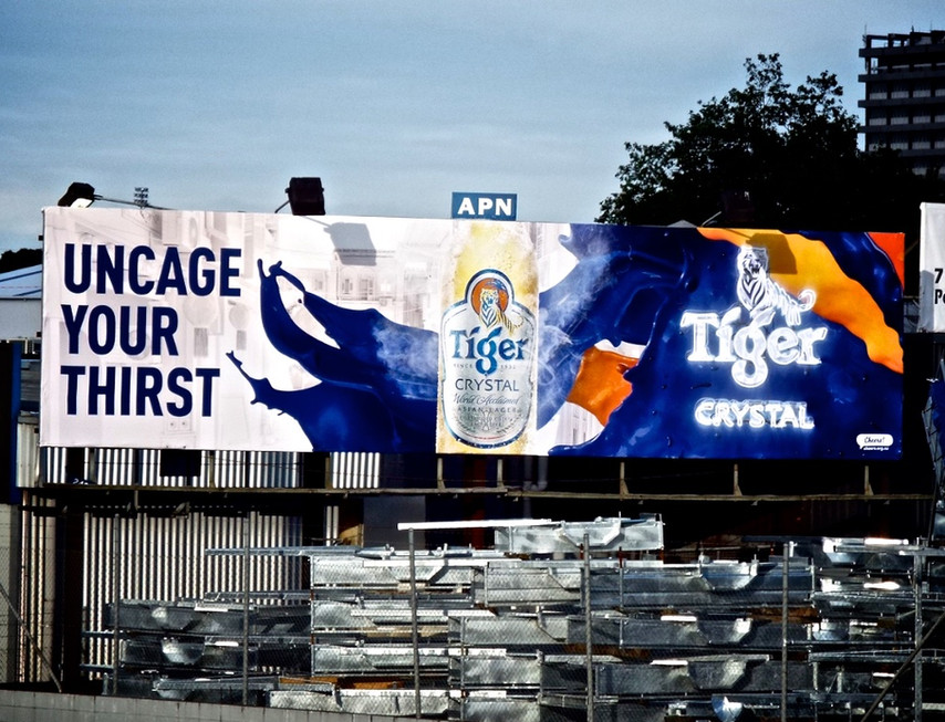 Tiger Crystal - uncage your thirst